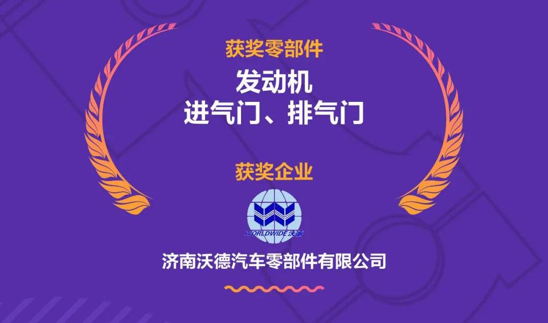 "win德赢ac米兰赢德体育官方网站入围""中国心""十佳动力总成"